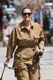Georgina Burke - Out in New York 04/21/2021