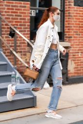 Gigi Hadid - Out in NYC 04/10/2021