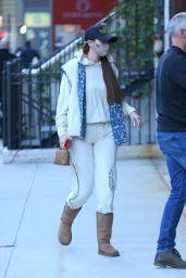 Gigi Hadid Street Style - New York 04/26/2021