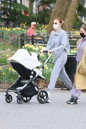 Gigi Hadid - Washington Square Park in New York City 03/31/2021