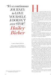 Hailey Bieber - Harper