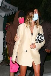 Hailey Rhode Bieber at San Vicente in West Hollywood 03/31/2021