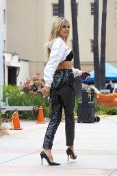 Heidi Klum at AGT Tapings in Los Angeles 04/24/2021