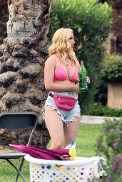 "Heidi Montag - ""The Hills New Beginnings"" Set in La Quinta 04/14/2021"