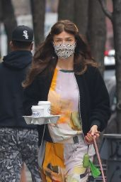 Helena Christensen - Out in NYC 03/31/2021