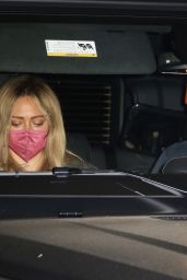 Hilary Duff - Leaving Matsuhisa Restaurant in Beverly Hills 04/23/2021