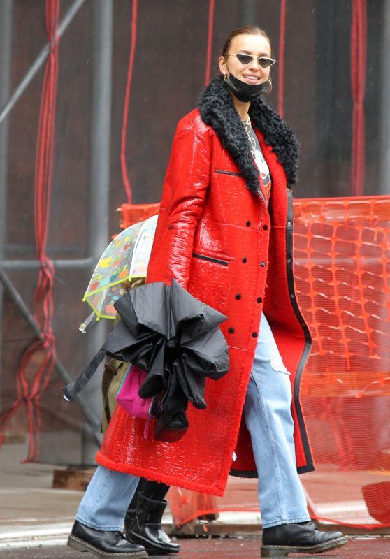 Irina Shayk - Out in West Village in New York 04/11/2021