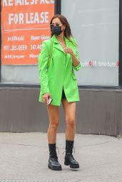 Irina Shayk Street Style - NYC 04/29/2021