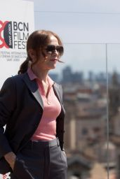 """Isabelle Huppert - """"Mother Mary"""" Press Photoshoot in Barcelona 04/17/2021"""