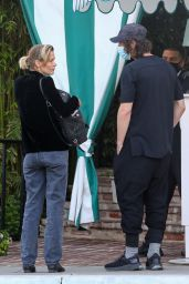 Jamie King - Out in San Vicente Bungalows in West Hollywood 04/15/2021