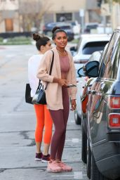 Jasmine Tookes at Dogpound Gym in West Hollywood 04/12/2021