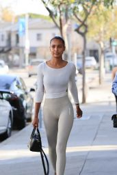 Jasmine Tookes in Gym Ready Outfit 04/20/2021