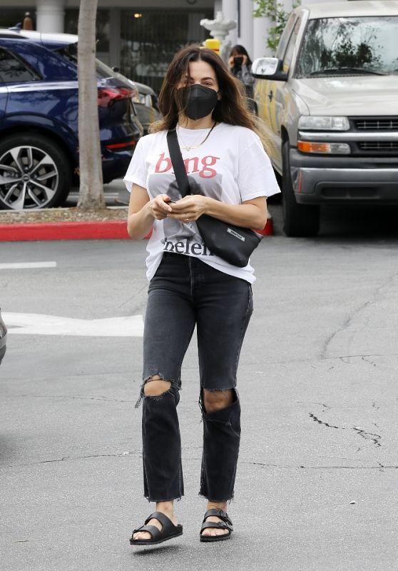 Jenna Dewan Street Style 04/24/2021