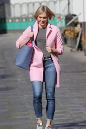 Jenni Falconer at Global Offices in Central London 04/22/2021
