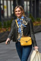 Jenni Falconer Street Style - London 04/14/2021