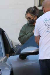 Jennifer Aniston - Leaving a Skincare Salon in Beverly Hills 04/29/2021