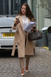 Jess Impiazzi - Filming for House of Influence the Good Influence Project Podcast in Chelsea 04/11/2021