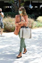 Jessica Alba - Heading to Her Office in LA 04/09/2021