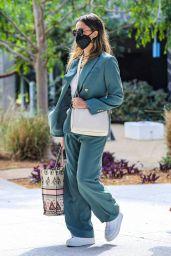 Jessica Alba - Heads to Her Office in Playa Vista 04/06/2021