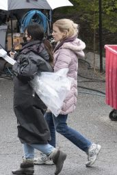 "Jessica Chastain - ""The Good Nurse"" Set in NY 04/17/2021"