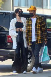 Jessie J at Crossroads Kitchen in West Hollywood 04/10/2021