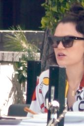 Jessie J at Crossroads Kitchen in West Hollywood 04/14/2021