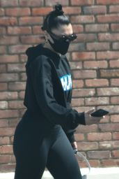Jessie J in Comfy Outfit - Studio City 03/31/2021