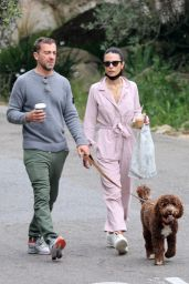 Jordana Brewster and Mason Morfit - Out in Brentwood 04/03/2021