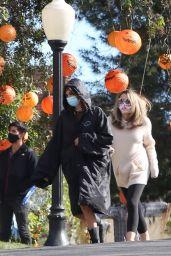 "Kaia Gerber - ""American Horror Story"" Season 10 Set in Burbank 04/27/2021"