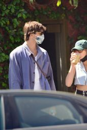 Kaia Gerber and Jacob Elordi - Out in Los Angeles 04/03/2021
