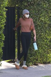 Kaia Gerber - Arrives at Pilates Class in West Hollywood 04/14/2021
