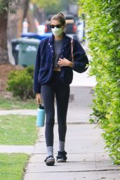 Kaia Gerber - Attending a Pilates Class in West Hollywood 04/22/2021