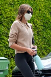Kaia Gerber - Heads to Pilates Session in West Hollywood 04/21/2021