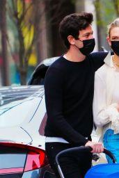 Karlie Kloss and Joshua Kushner Out in Soho, New York 04/10/2021