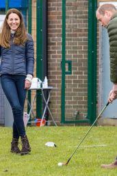 Kate Middleton - Belmont Community Centre in England 04/27/2021