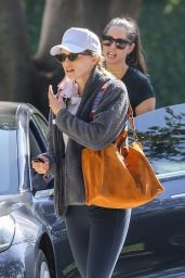 Katherine Schwarzenegger, Maria Shriver and Christina Schwarzenegger - Out in Brentwood 04/26/2021