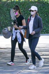 Katherine Schwarzenegger, Maria Shriver and Christina Schwarzenegger - Out in Brentwood 04/26/2021