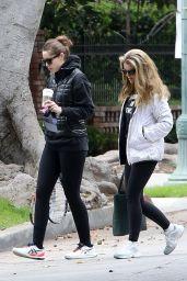 Katherine Schwarzenegger With Her Mom Maria Shriver and Sister Christina Schwarzenegger - Los Angeles 04/12/2021
