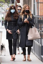 Kelly Bensimon and Carol Alt - New York 04/22/2021