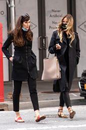 Kelly Bensimon and Carol Alt - New York 04/22/2021