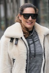 Kelly Brook in Casual Outfit 04/02/2021