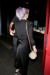 Kelly Osbourne - BOA Steakhouse in West Hollywood 03/31/2021