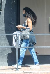 Kelly Rowland at Couture Kids in West Hollywood 04/05/2021