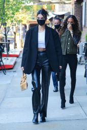 Kendall Jenner and Joan Smalls - Out in New York 04/26/2021