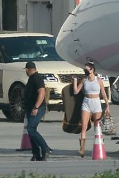 Kendall Jenner and Kylie Jenner - Airport in LA 04/05/2021