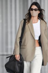 Kendall Jenner at JFK Airport in NY 04/24/2021