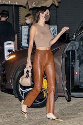 Kendall Jenner at Nobu Restaurant in Malibu 04/18/2021