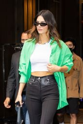 Kendall Jenner at the Nets vs Suns Game in NY 04/25/2021
