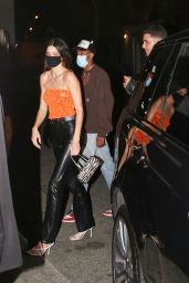 Kendall Jenner at the Nice Guy in West Hollywood 04/08/2021
