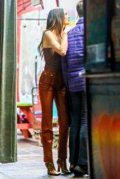Kendall Jenner Street Fashion - Los Angeles 04/15/2021